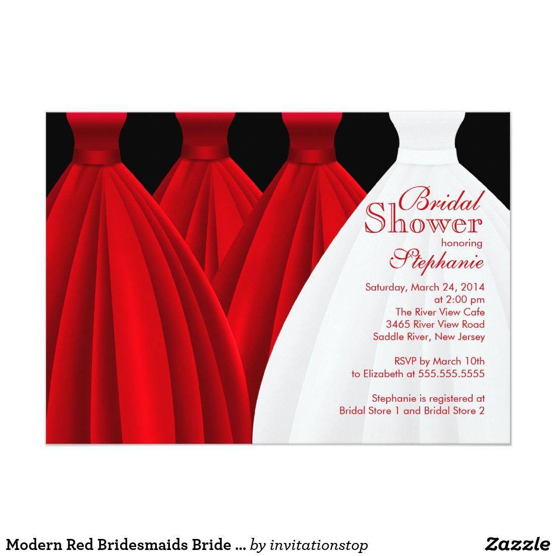 Fancy Polka Dot Bridal Shower Invitations Image Collection ...