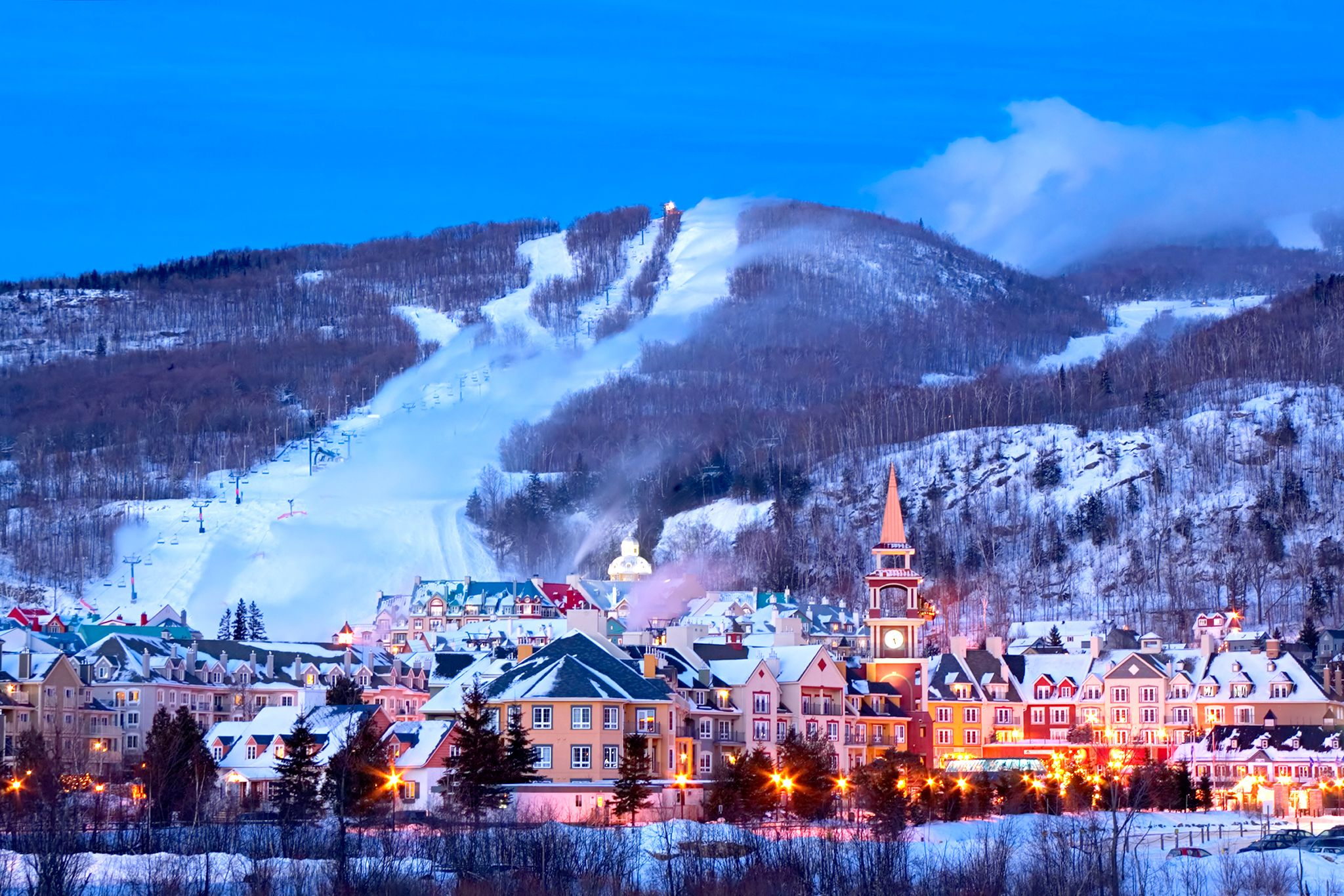 Canada Ski Resorts Map Near Montreal A Quebec Road Trip: The Scenic Loop Between Montreal and Quebec