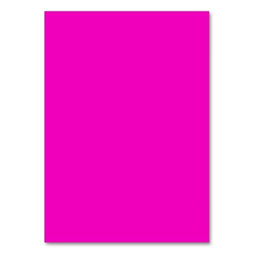 Color Trending Pink: Neon Hot Pink Light Bright Fashion Color Trend