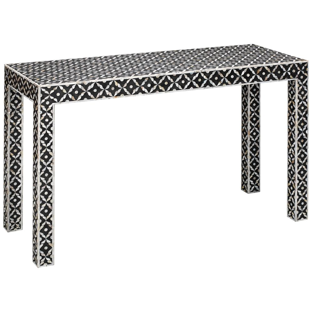 Jamie young evelyn gray white mother of pearl console table jamie young evelyn gray white mother of pearl console table style 20t49 geotapseo Image collections