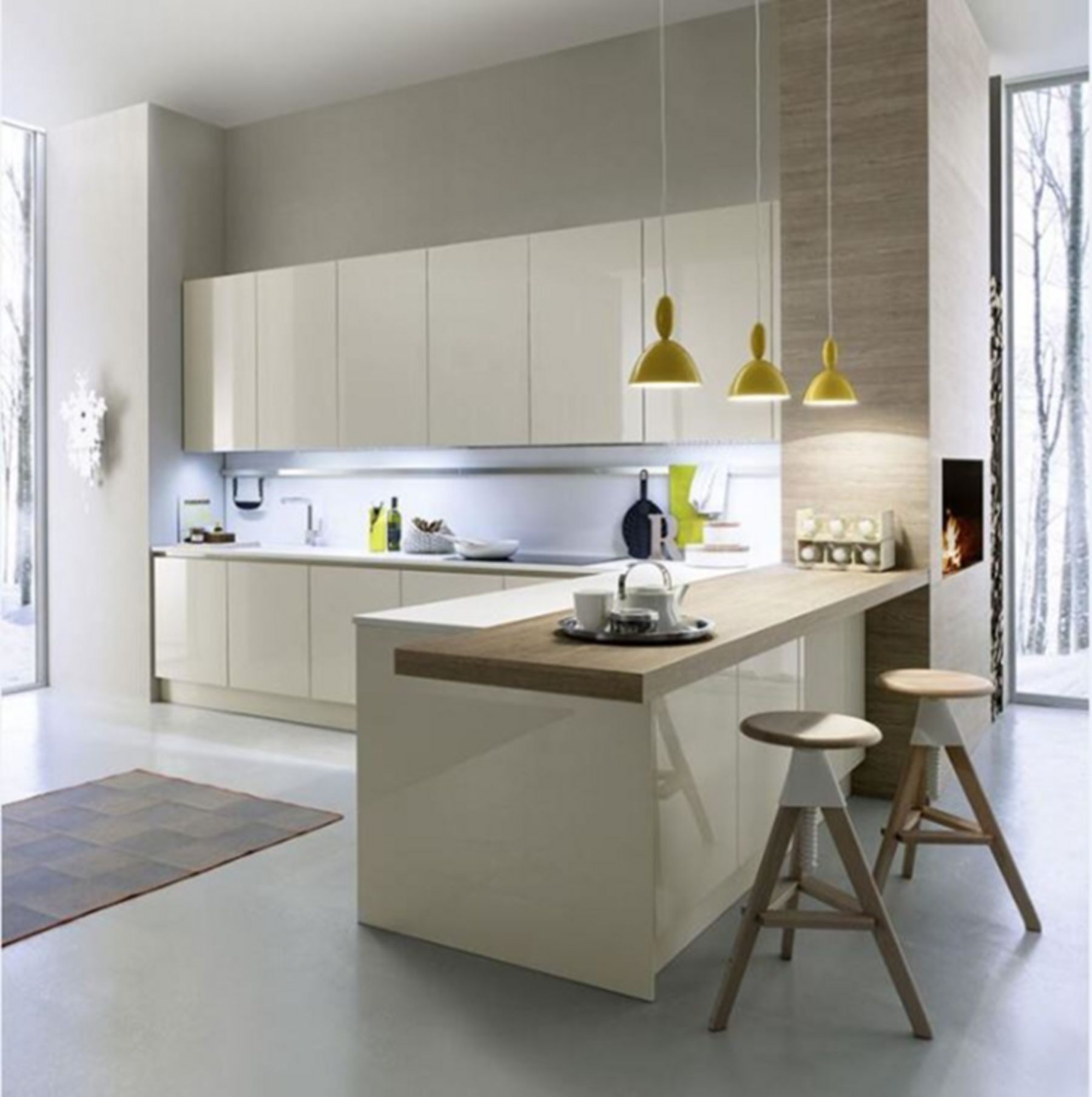 Interesting 10+ Minimalist Kitchen Set Design Ideas For