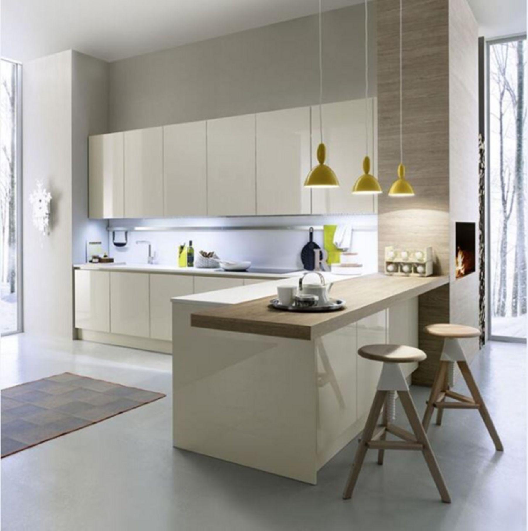Interesting 10 Minimalist Kitchen Set Design Ideas For Your