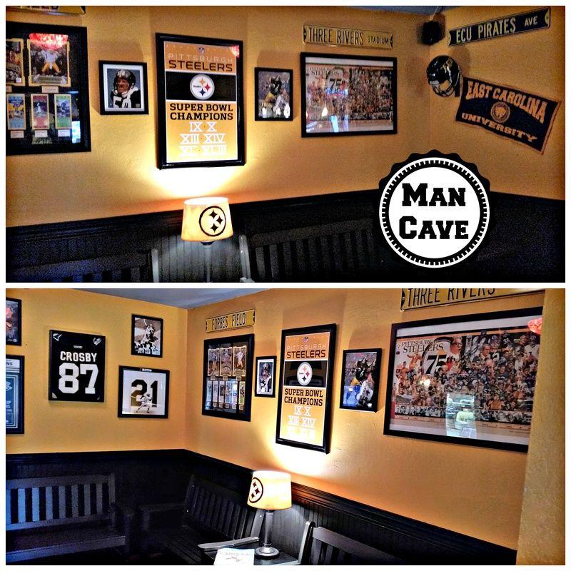 Man Cave Design Designing a sports memorabilia room for