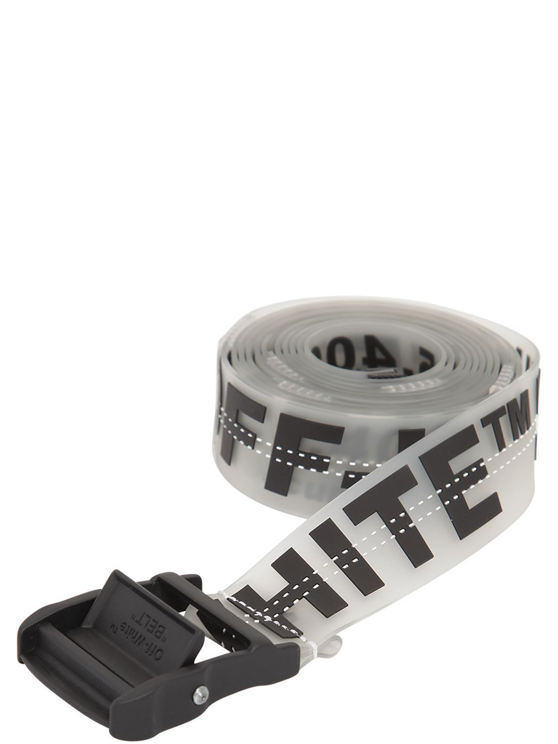4fe18a65dd95 OFF-WHITE 35MM LONG PRINTED RUBBER INDUSTRIAL BELT.  off-white ...