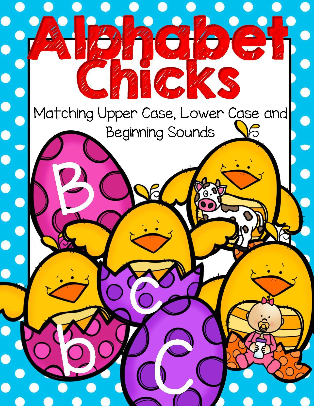 Spring Alphabet Chicks