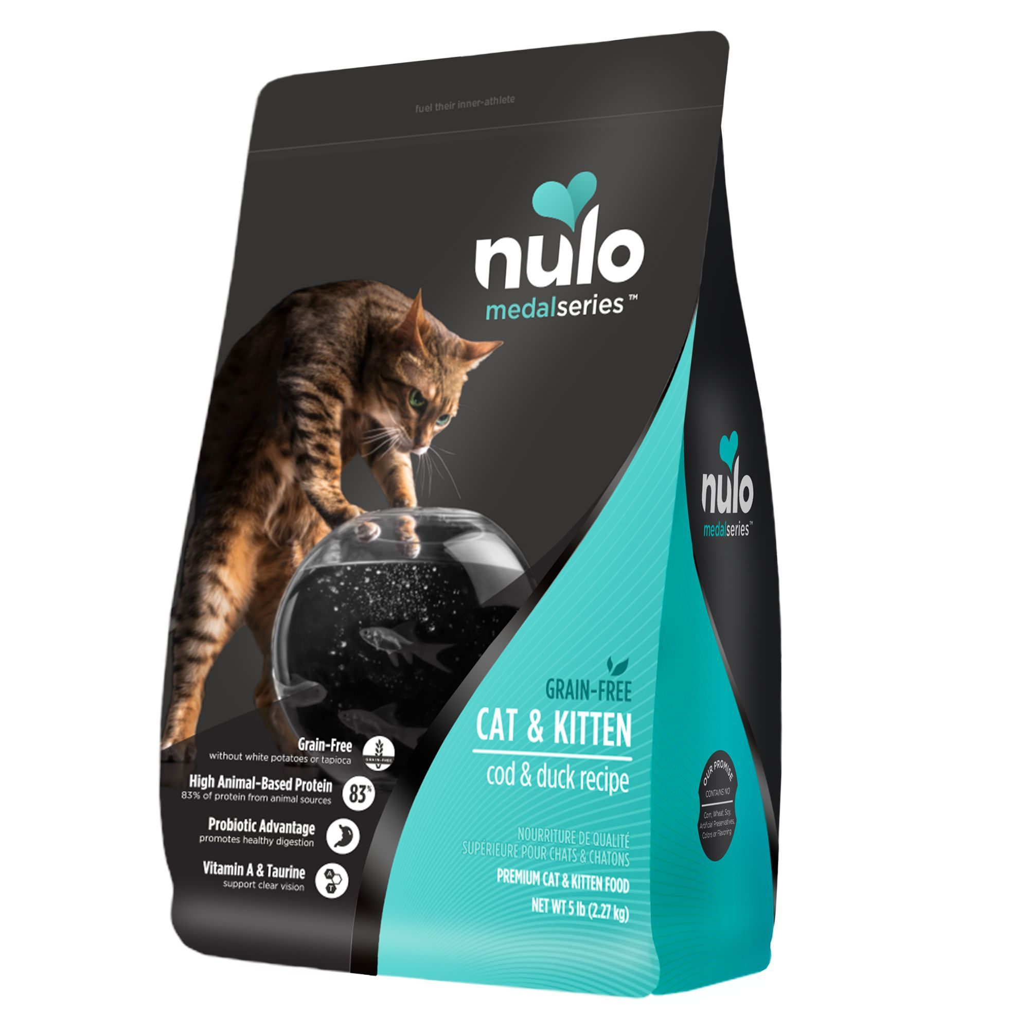 Nulo Medalseries Cat Kitten Food Grain Free Cod Duck Kitten Food Food Animals Free Cat Food