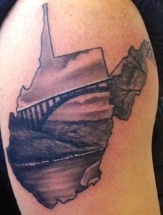 West Virginia Tattoo Ideas : virginia, tattoo, ideas, Tattoo, Virginia, Tattoo,, Black, White, Tattoos,, Tattoos