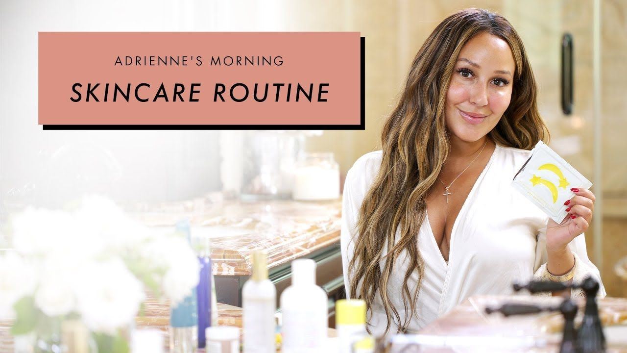 Adrienne Houghton S Morning Skincare Routine All Things Adrienne