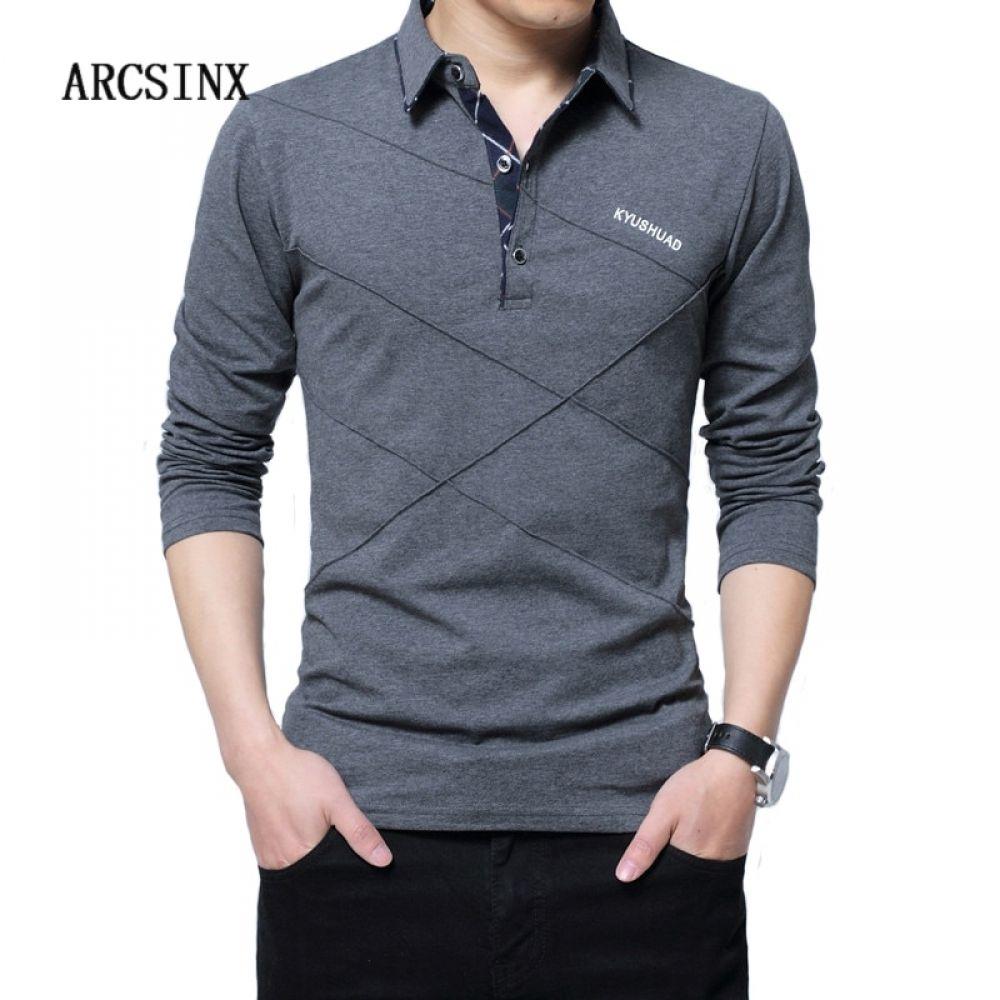 alphamerchnet.comARCSINX 5XL Polo Shirt Men Plus Size 3XL 4XL ...