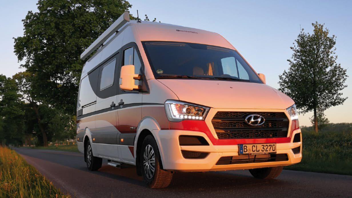 Camperliebe turns the Hyundai H10 into a sleek, smart camper van