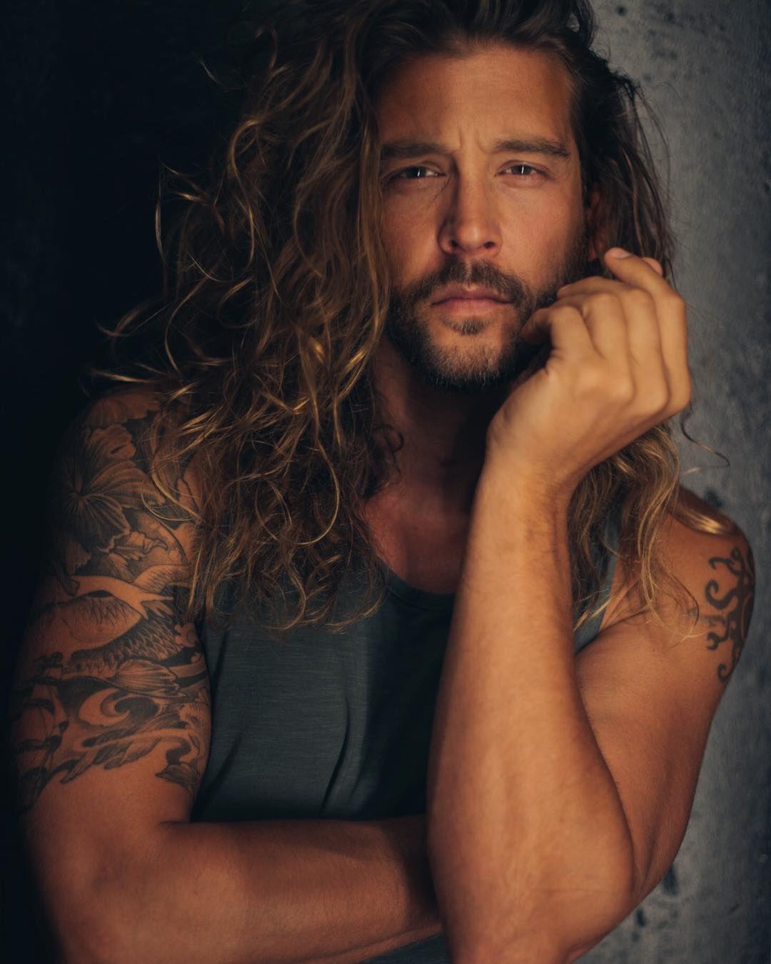 Long curly hair for men long hair inspiration long natural hair - Inspiration Long Hair For Men Long Wavy Hair For Men Long Curly Hair