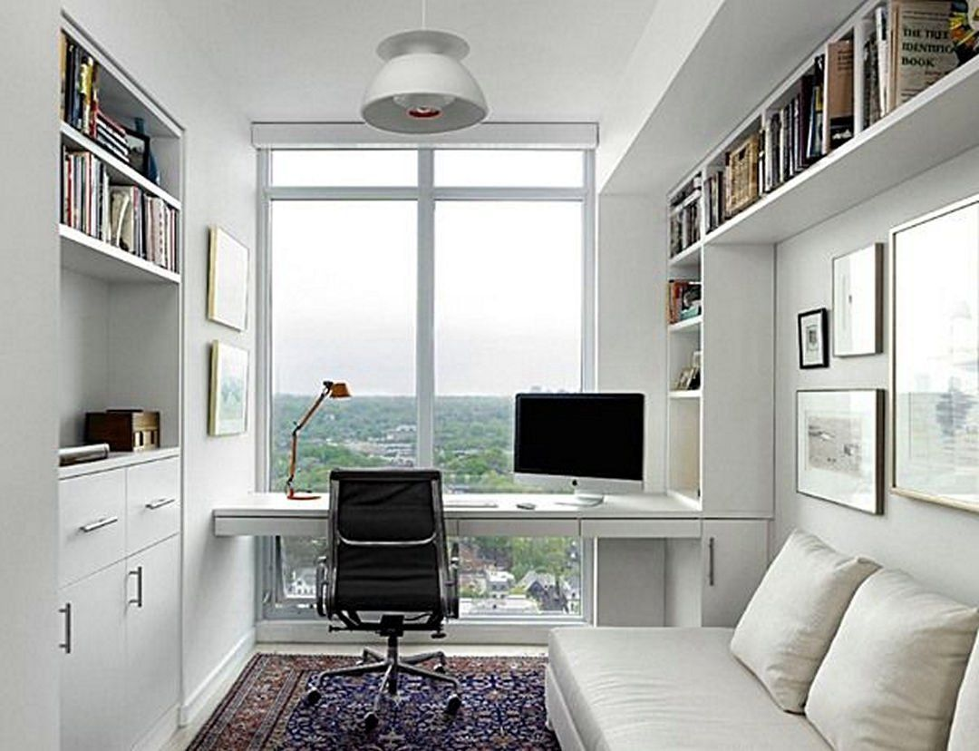 Cool Home Office Design Idea (11) | Office designs, Study rooms and ...