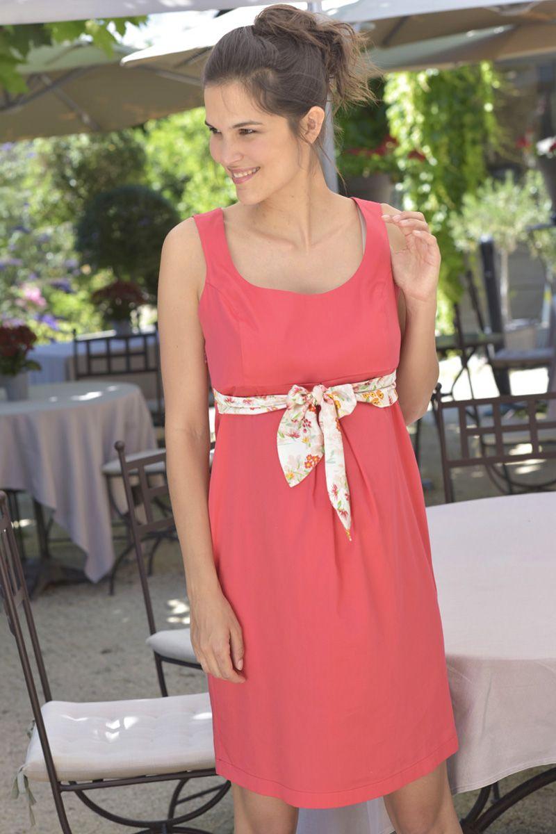 374167c9fedc80 Portez | Louez | Échangez - Robe habillée de maternité en satin de ...