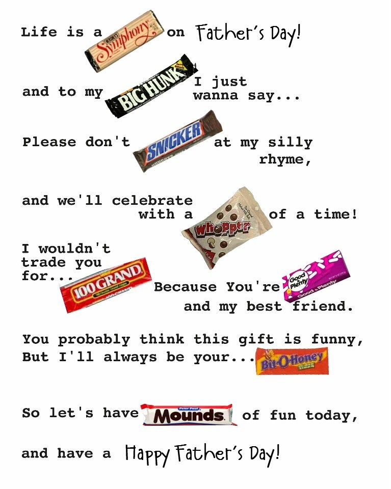 d51be582896f5 Another pinned wrote  Father s Day- Candy gram. Cheap idea! This could work  for Hubby s birthday or valentines day too!