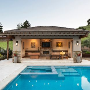 Pool House Designs Is The Best Best Home Pools Is The Best Custom Pool House Is The Best Simple Pool Designs Pool H Pool Houses Pool House Designs Pool House