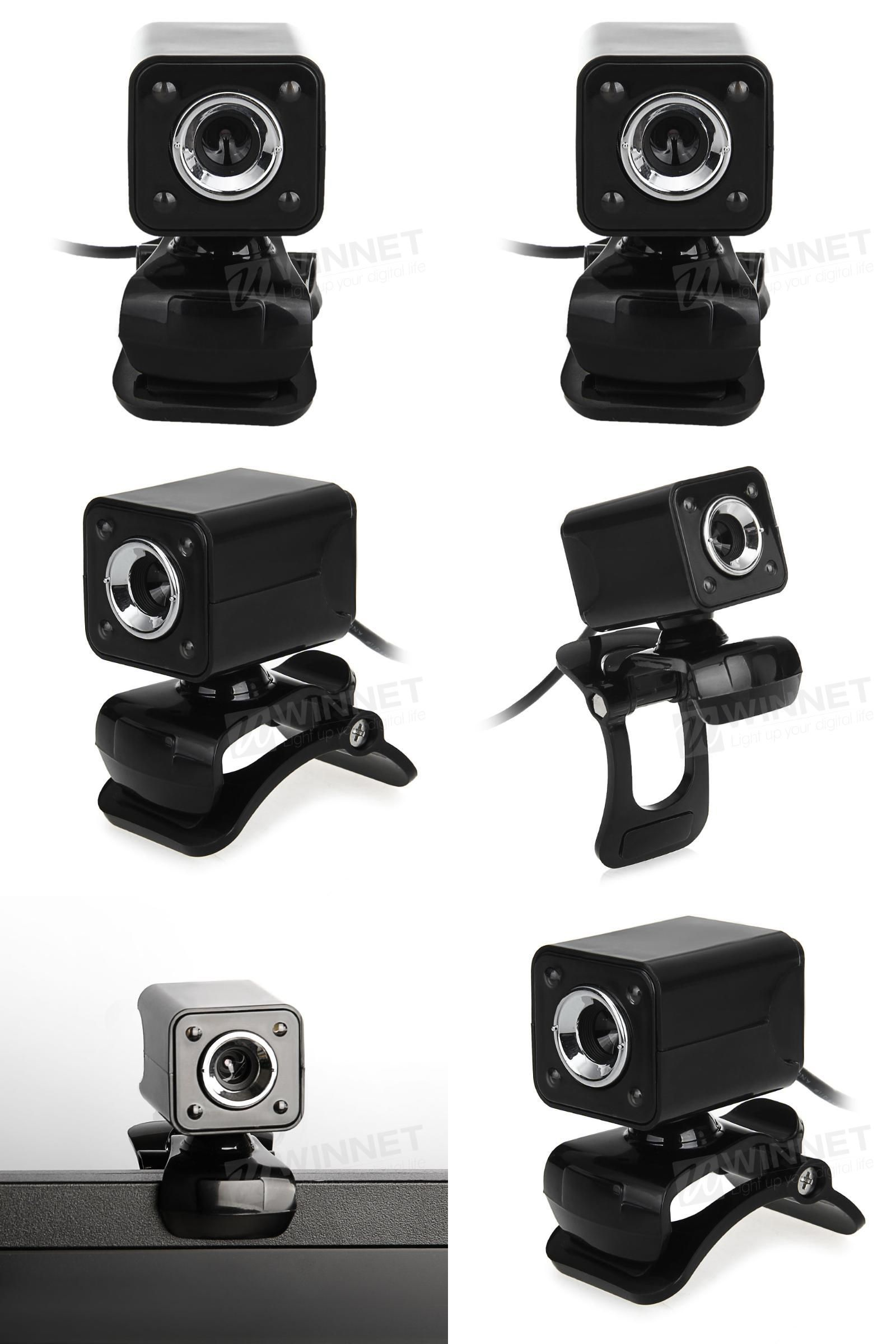 Visit to Buy] USB 2 0 0 3MP LED HD Webcam Web Camera Cam MIC