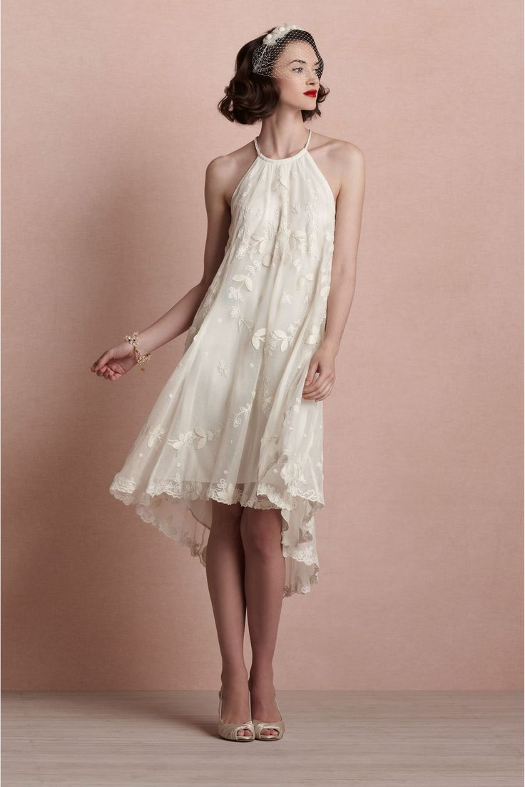 Vestidos de noiva curto | Pinterest | Vestido novia civil ...