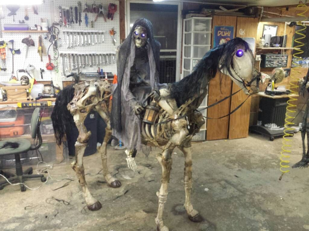 Home depot skellie horse sytnathotepifacation page 2 for Halloween decorations home depot