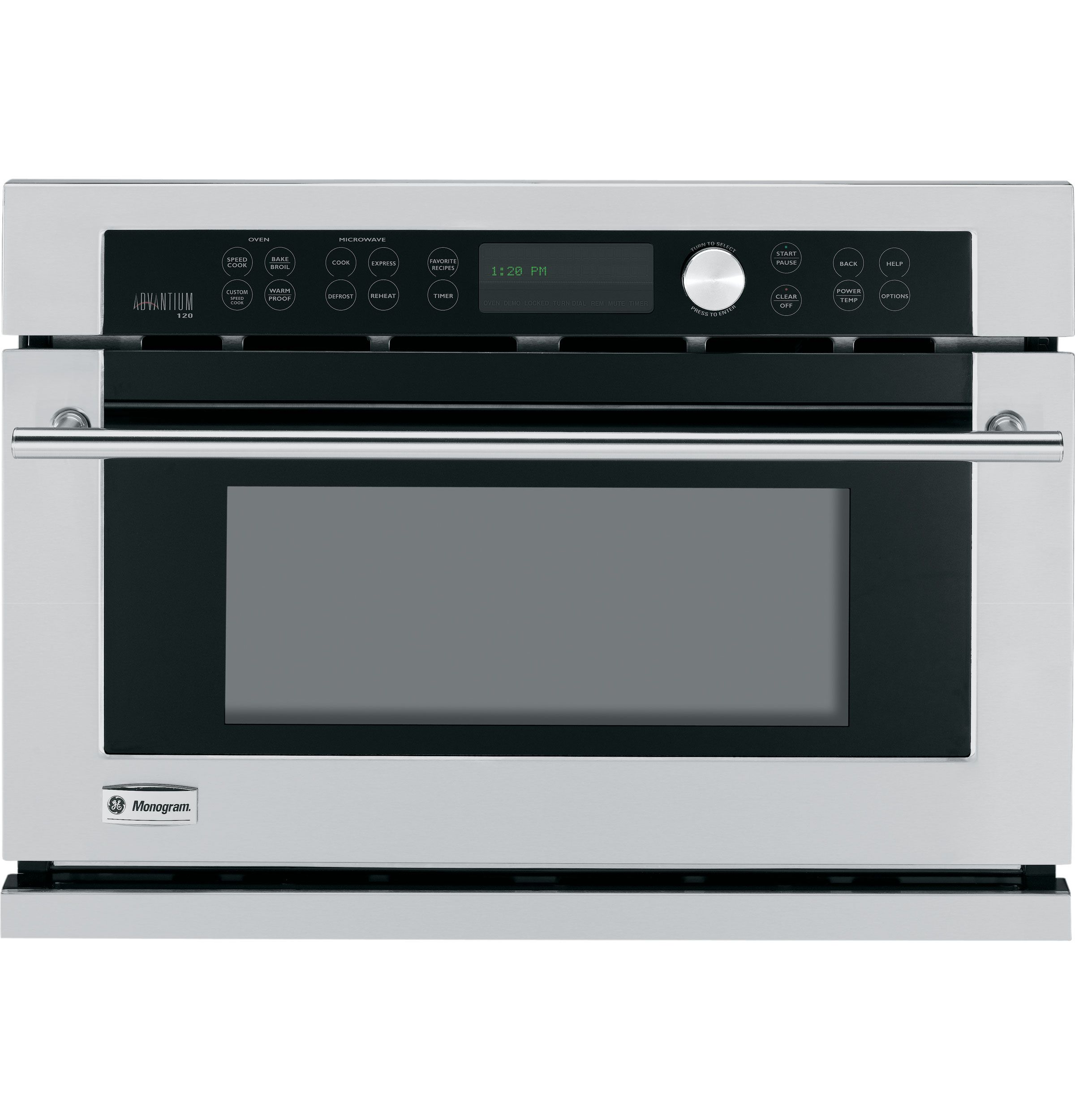 Ge Monogram Kitchen Appliances Zsc1001kss Ge Monogram Built In Oven With Advantiumar Speedcook