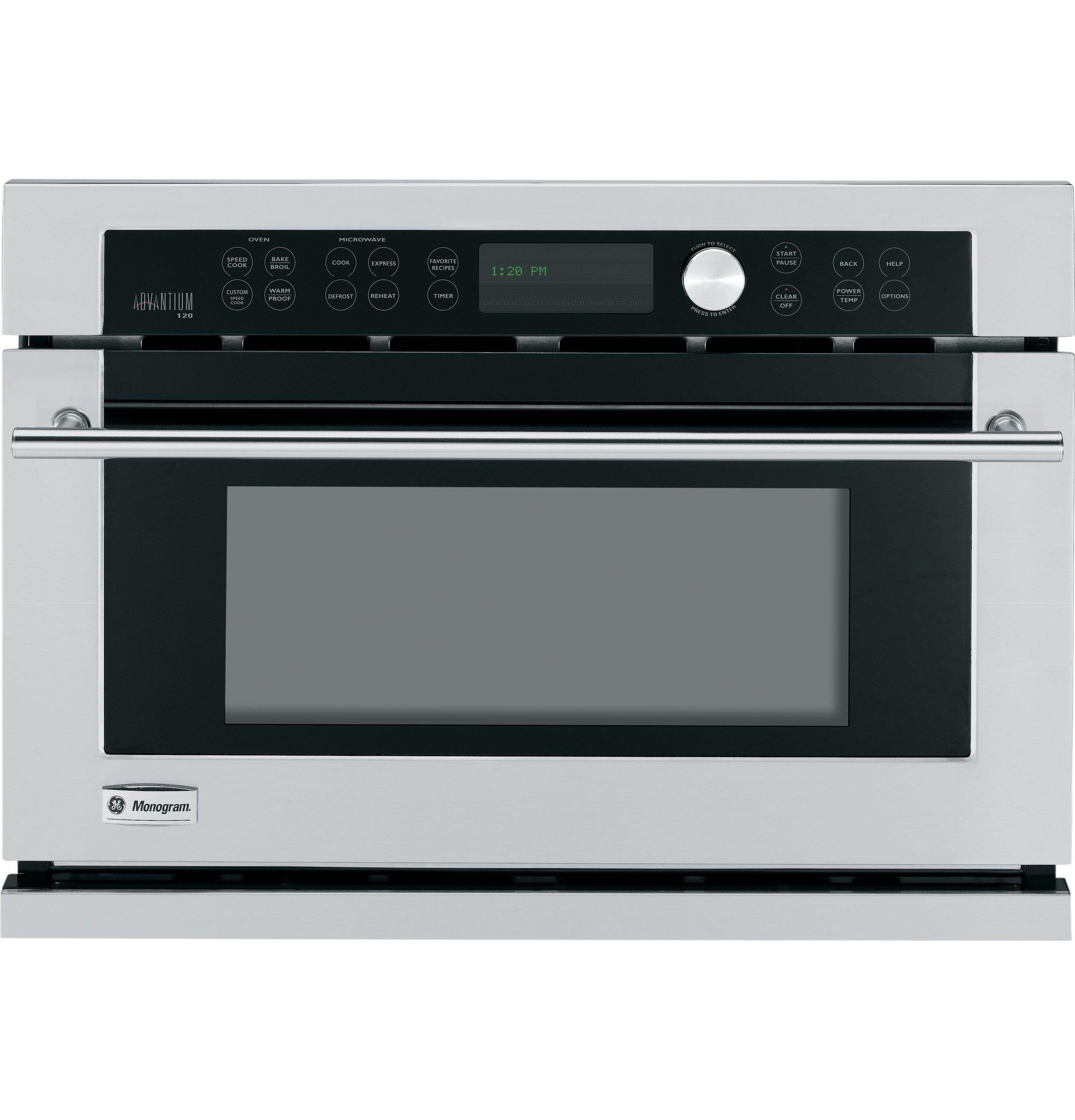 Zsc1001kss Ge Monogram Built In Oven With Advantium Speedcook