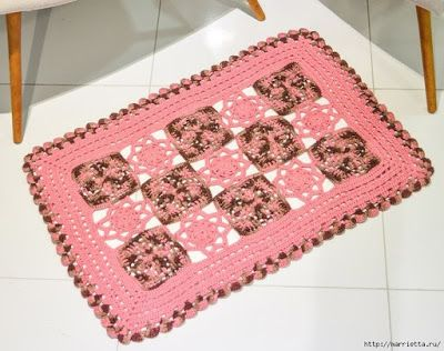 Crochet Oval Rug Pattern How To Crochet A Rug Out Of Yarn Crochet