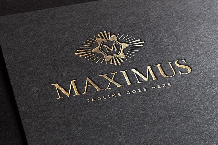 maximus logo template fancy flourish download here http 1