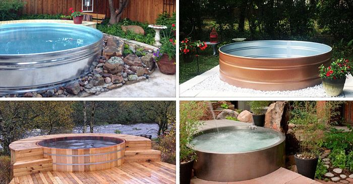 These Trendy Stock Tank Pools Are Popping Up In Back Yards