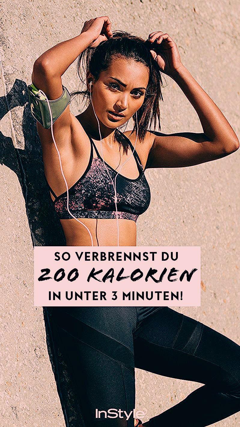 Mit diesen Übungen verbrennst du 200 Kalorien in unter 3 Minuten   #fitness #workout #sport #abnehme...