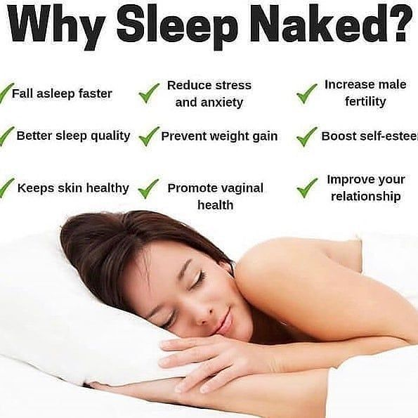 12 Health Benefits of Sleeping Naked: Ditch Your