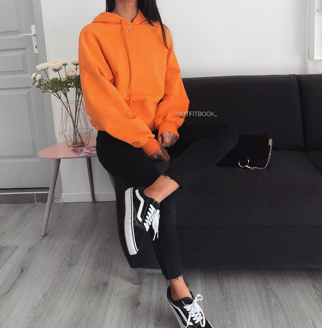 That Orange Hoodie New In Sweat Orange Ref 3047 Www