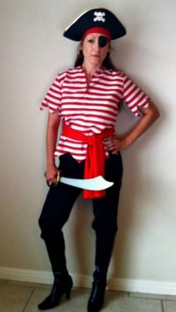 check out this diy homemade pirate costume for women easy got to do this - Halloween Pirate Costume Ideas