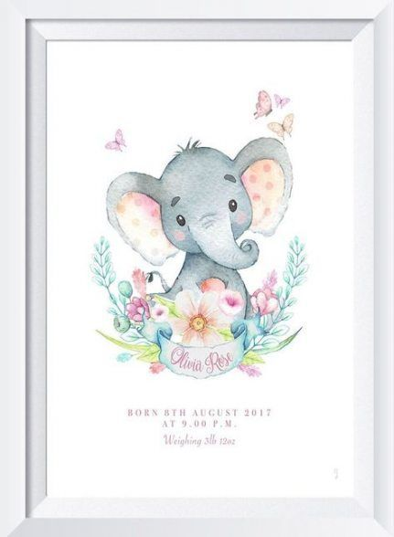 22 New Ideas for baby shower ideas for girls safari wall art #wall #babyshower #baby