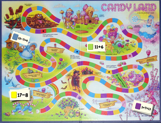 Learn How To Make An Educational Version Of Candy Land For Your Kids Educational Games And Centers Candyland Games Candyland Board Game Candyland Party