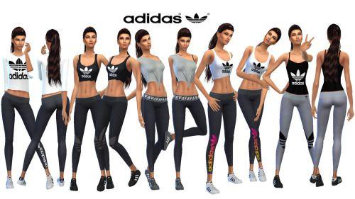 nombre de la marca Sombreado hijo  sims 4 cc adidas - Google Search | Sims, Sims 4, Sims 4 cc