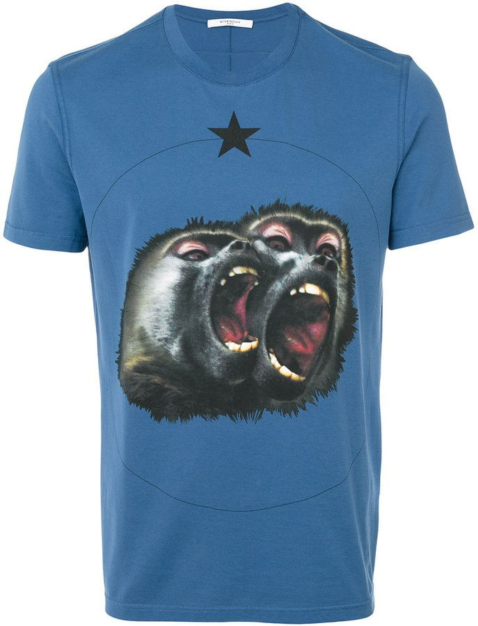 Givenchy Monkey Brothers printed T-shirt