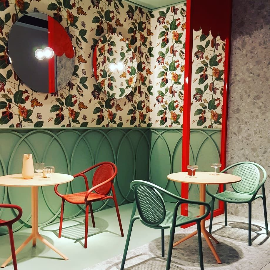 Salonedelmobile2019 Toujours De Tres Belles Mises En Scene Chez Pedrali Scenographie Colorful Decoration Design Milan Lyd In 2020 Furniture Home Decor Decor