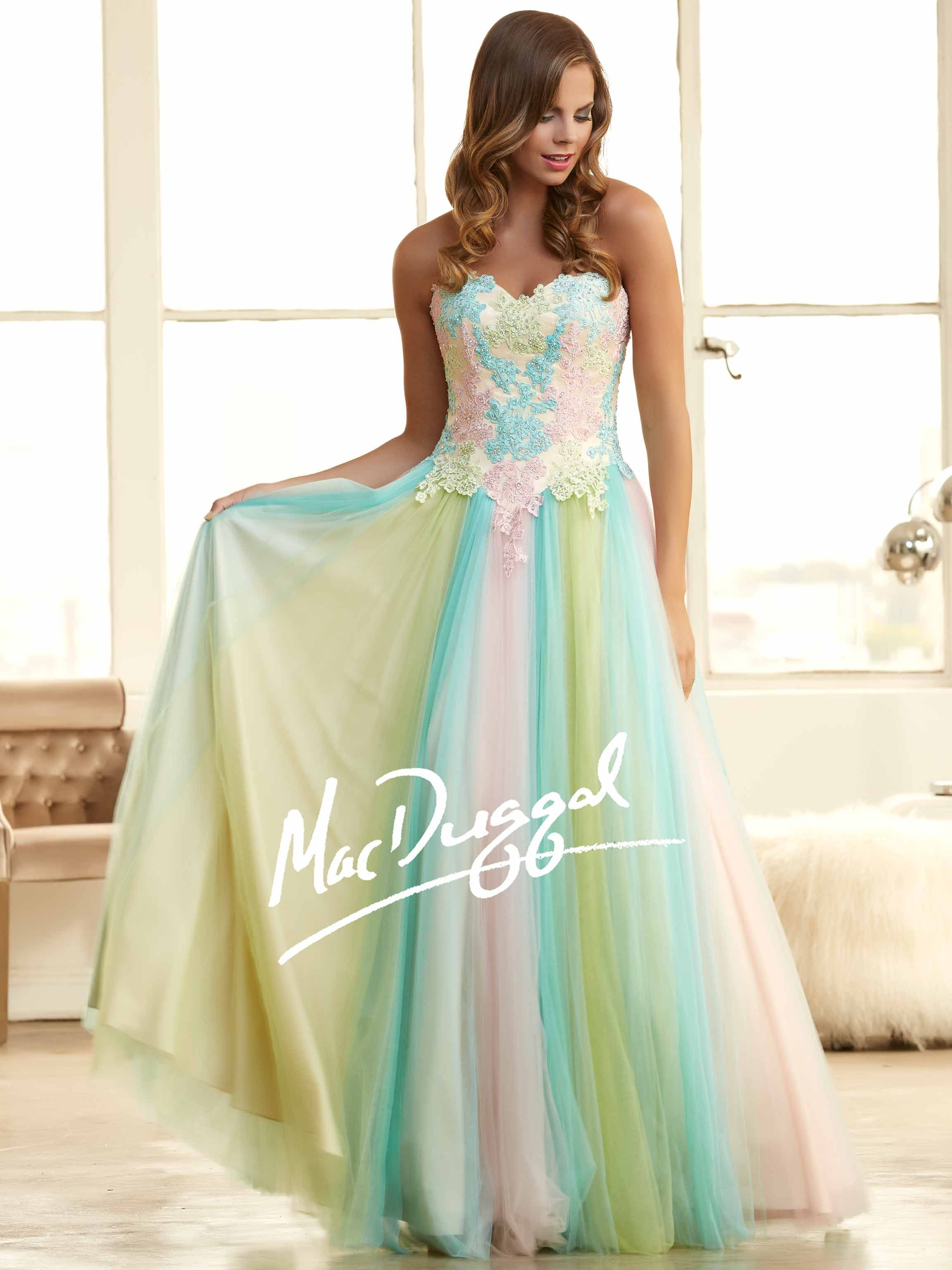 multicolor pastel prom dresses - Google Search | Rachel wedding ...