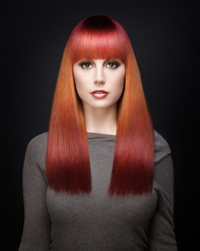 hair styles for hair with bangs blended splash lights get the formulas by david robin 1211