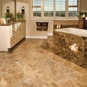 Pros And Cons Of Different Types Of Tile How To Build It Marble Flooring Design Marble Tile Floor Gorgeous Bathroom