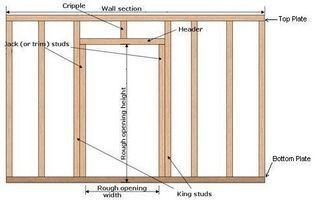 How To Frame A New Interior Wall Door Frame Hunker Prehung Doors Door Frame Basement Remodeling