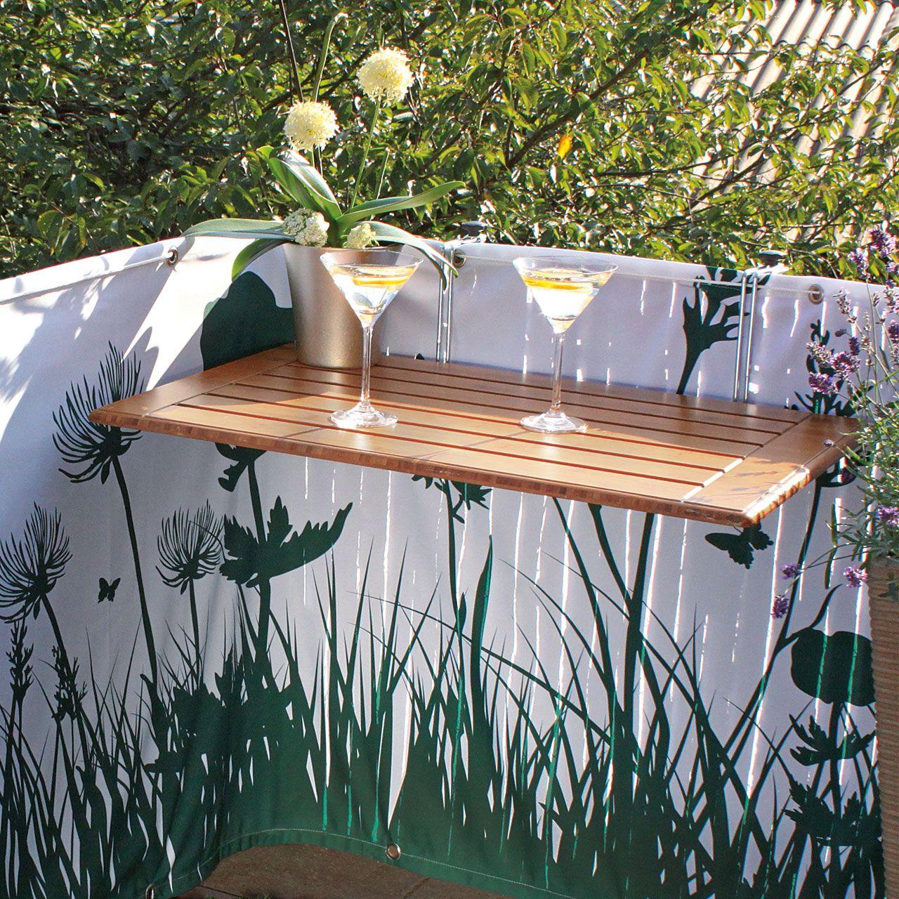 Divano In Muratura Per Esterno balkonklapptisch, bambusholz 50 x 80cm   fai da te