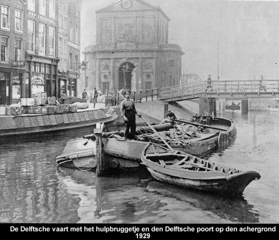 1929 Delftsche vaart en Delftsche poort Rotterdam, Foto