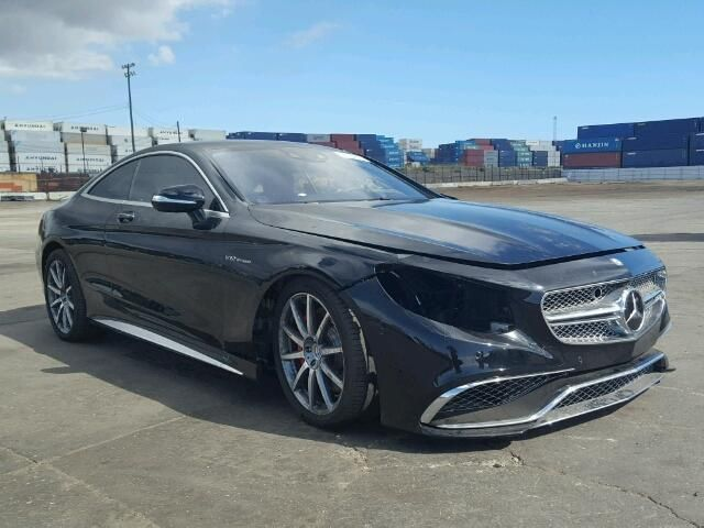salvage 2016 mercedes benz s65 amg coupe for sale salvage title wrecked exotics mercedes. Black Bedroom Furniture Sets. Home Design Ideas