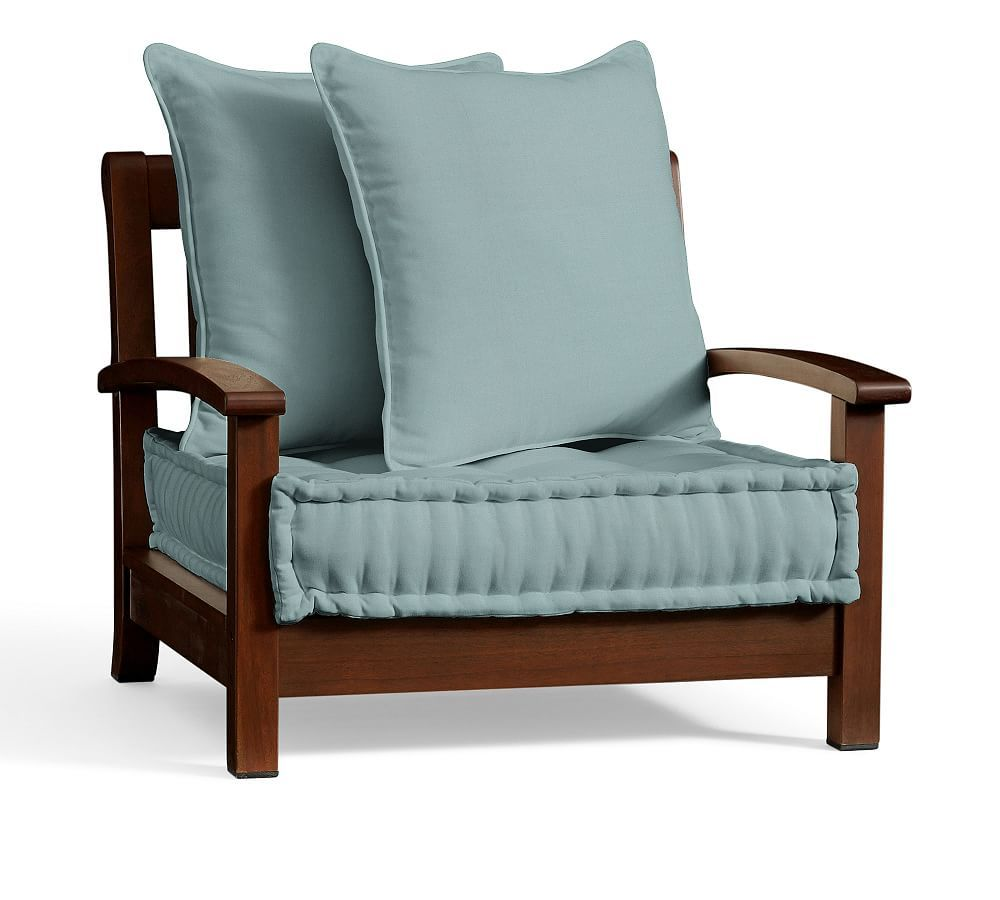 Chatham Armchair Replacement Cushion Set, Sunbrella(R ...