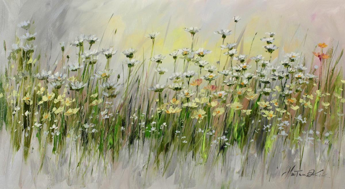 Galeria Sztuki Malgorzaty Kruk Recznie Malowane Obrazy Olejne Pejzaze Na Plotnie Na Zamowienie Flower Art Art Painting
