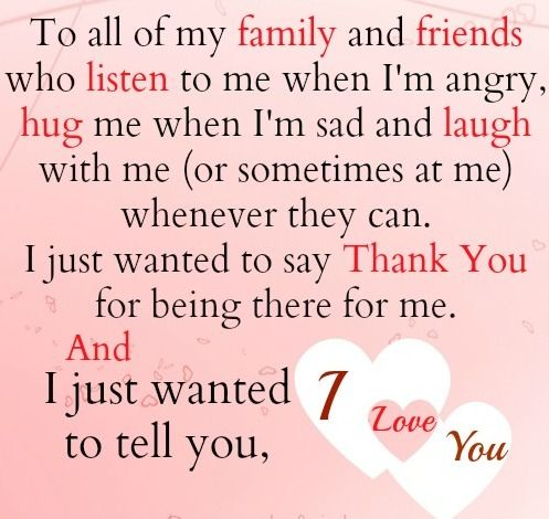 To My Blood And Non Blood Related Family All Over The World