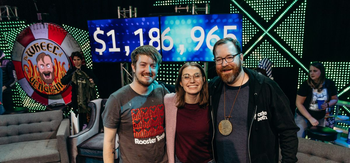 Rooster Teeth Extra Life Raises Over 1.2 Million in 24
