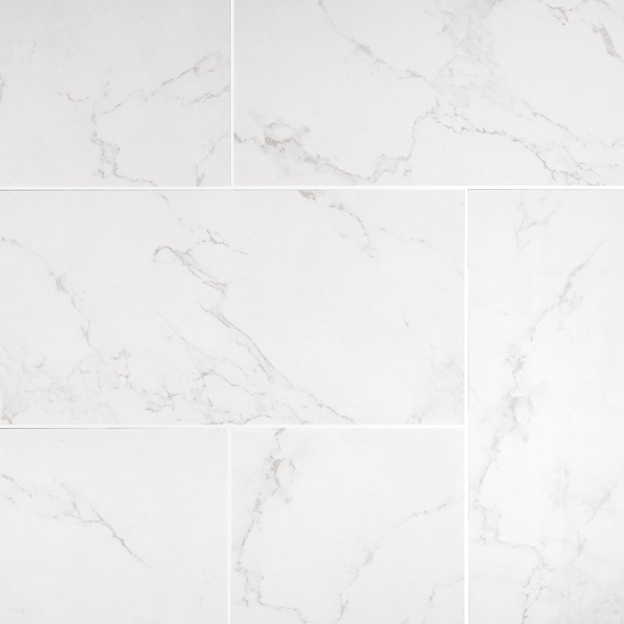 carrara matte gray porcelain tile