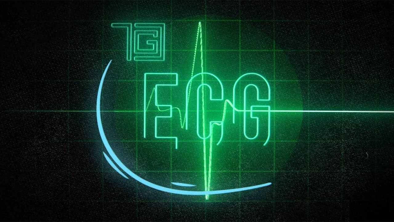 TGC ECG [Official Lyric Video] Lyrics, Video, Neon signs