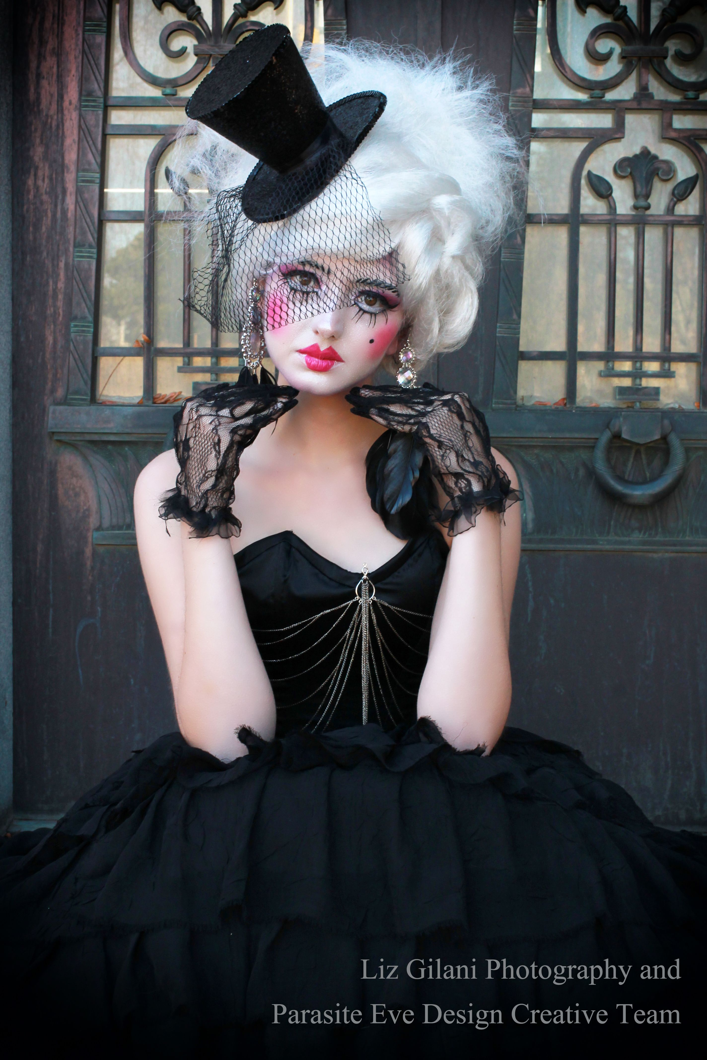 Dreaming Of Porcelain Gothic Doll Themed Shoot From Gothesque Magazine Photography By Liz Gilani